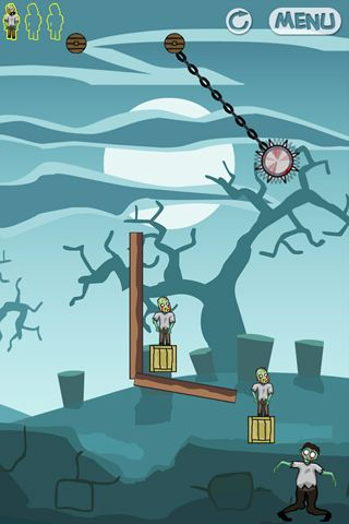 Screenshots do jogo Zombie zone para iPhone, iPad ou iPod.