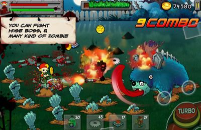 Download Zombie&Lawn iPhone free game.