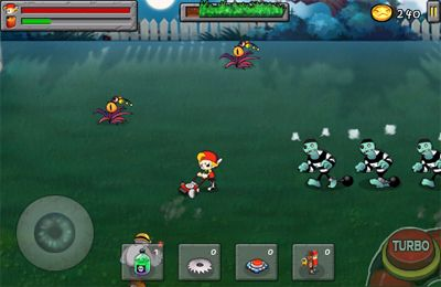 Screenshots do jogo Zombie&Lawn para iPhone, iPad ou iPod.
