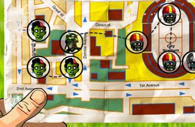 Screenshots of the Zombies Ate My Baby game for iPhone, iPad or iPod.
