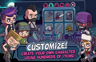 Screenshots of the Zombies Ate My Friends game for iPhone, iPad or iPod.