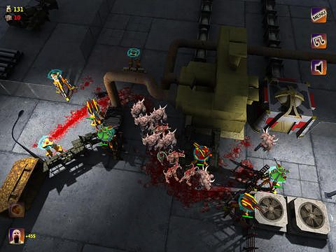 Screenshots of the Zombies coming game for iPhone, iPad or iPod.