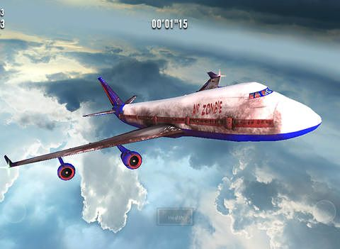 Descarga gratuita de Zombies on a plane para iPhone, iPad y iPod.