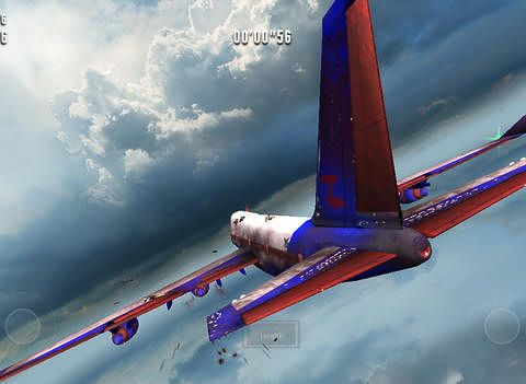 Capturas de pantalla del juego Zombies on a plane para iPhone, iPad o iPod.