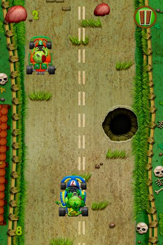 Free Zombies race plants download for iPhone, iPad and iPod.