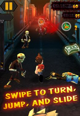 Descarga gratuita del juego Fuga de Zombies  para iPhone.