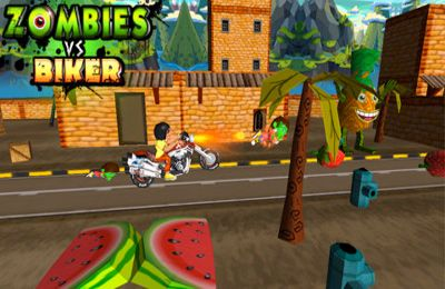 Zombies vs Biker (3D Bike racing games)