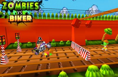 Скачать игру Zombies vs Biker (3D Bike racing games) для iPad.