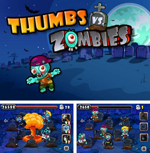 In addition to the game Slender rising 2 for iPhone, iPad or iPod, you can also download Zombies vs. thumbs for free.