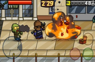 Descarga gratuita de Zombieville USA 2 para iPhone, iPad y iPod.