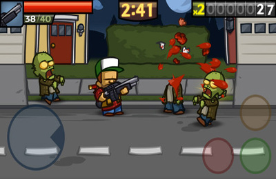 Capturas de pantalla del juego Zombieville USA 2 para iPhone, iPad o iPod.