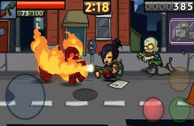 Screenshots of the Zombieville USA 2 game for iPhone, iPad or iPod.