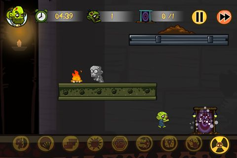 Capturas de pantalla del juego Zombiez! para iPhone, iPad o iPod.