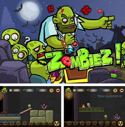In addition to the game Motor race: Rush for iPhone, iPad or iPod, you can also download Zombiez! for free.