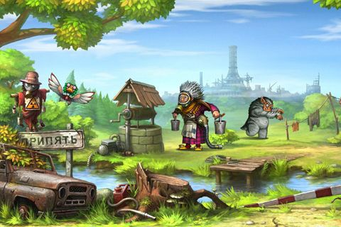 Screenshots of the Zone Zero game for iPhone, iPad or iPod.