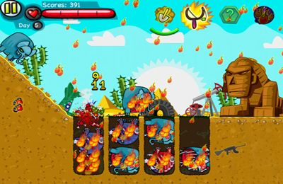 Download Zoombie Digger iPhone free game.