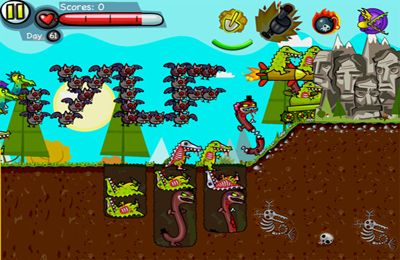 Free Zoombie Digger download for iPhone, iPad and iPod.