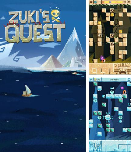 In addition to the game Bardadum: The Kingdom roads for iPhone, iPad or iPod, you can also download Zuki's quest for free.