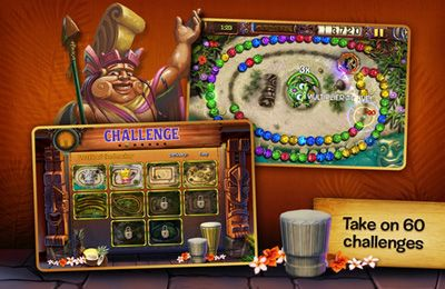 Download Zuma's Revenge iPhone free game.