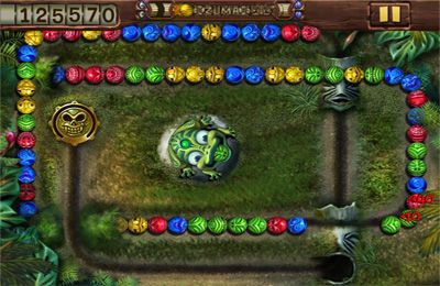 Screenshots of the Zuma's Revenge game for iPhone, iPad or iPod.
