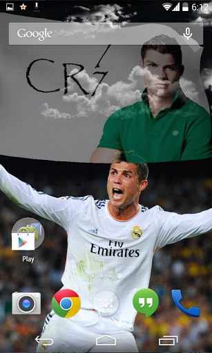 3d Cristiano Ronaldo Live Wallpaper For Android 3d Cristiano