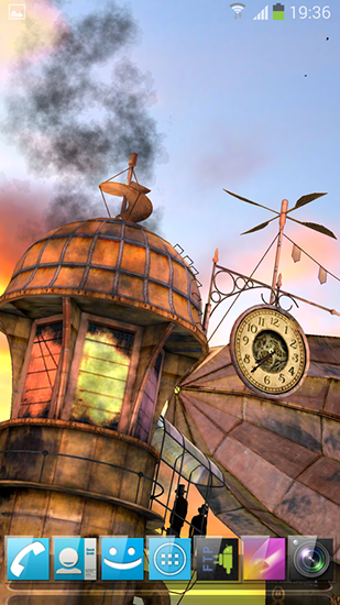 Download livewallpaper 3D Steampunk travel pro for Android. Get full version of Android apk livewallpaper 3D Steampunk travel pro for tablet and phone.