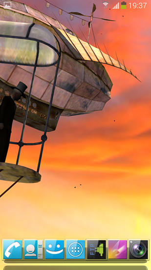 Screenshots of the 3D Steampunk travel pro for Android tablet, phone.