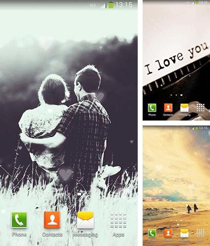 About love by Lux Live Wallpapers