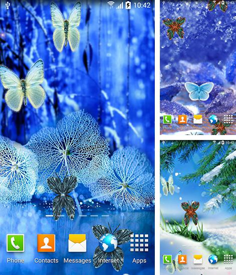 In addition to live wallpaper Mercury 3D for Android phones and tablets, you can also download Abstract butterflies for free.