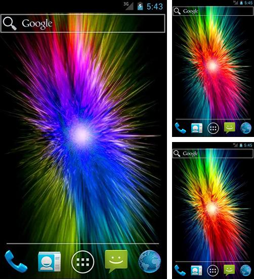 In addition to live wallpaper Mega particles for Android phones and tablets, you can also download Abstract vortex for free.