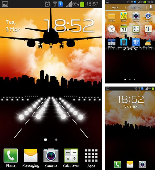 Download live wallpaper Aircraft for Android. Get full version of Android apk livewallpaper Aircraft for tablet and phone.