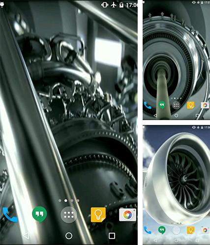 Download live wallpaper Aircraft engine for Android. Get full version of Android apk livewallpaper Aircraft engine for tablet and phone.