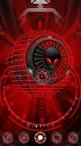 Alien spider 3D für Android spielen. Live Wallpaper Alien Spinne 3D kostenloser Download.