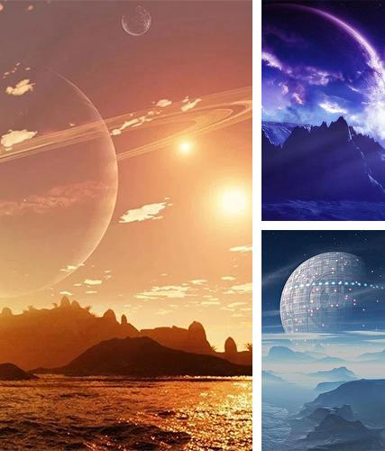 Download live wallpaper Alien worlds by Forever WallPapers for Android. Get full version of Android apk livewallpaper Alien worlds by Forever WallPapers for tablet and phone.