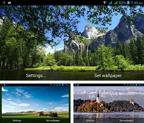 Download live wallpaper Amazing nature for Android. Get full version of Android apk livewallpaper Amazing nature for tablet and phone.