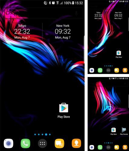 Download live wallpaper AMOLED for Android. Get full version of Android apk livewallpaper AMOLED for tablet and phone.
