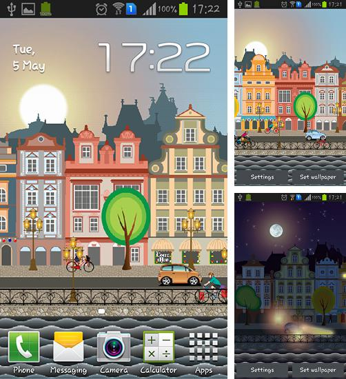 In addition to live wallpaper Dubai fountain for Android phones and tablets, you can also download Amsterdam for free.