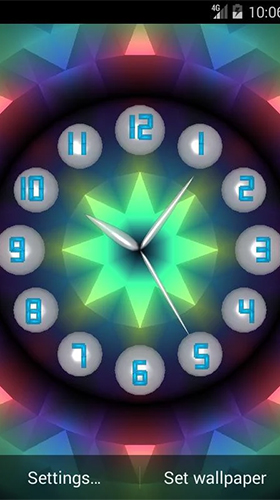 Screenshots of the Analog clock by Alexander Kutsak for Android tablet, phone.