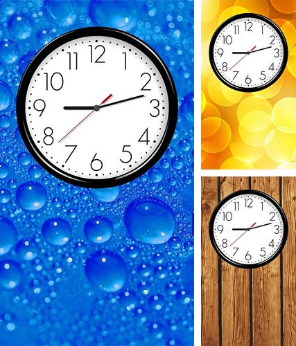 Descarga gratuita fondos de pantalla animados Reloj analógico para Android. Consigue la versión completa de la aplicación apk de Analog clock by Weather Widget Theme Dev Team para tabletas y teléfonos Android.