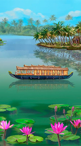 Screenshots of the Andaman paradise for Android tablet, phone.