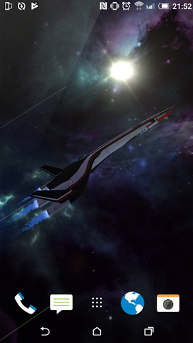 Andromeda Journey live wallpaper for Android  Andromeda Journey free