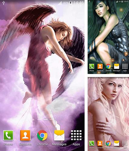 Download live wallpaper Angels for Android. Get full version of Android apk livewallpaper Angels for tablet and phone.