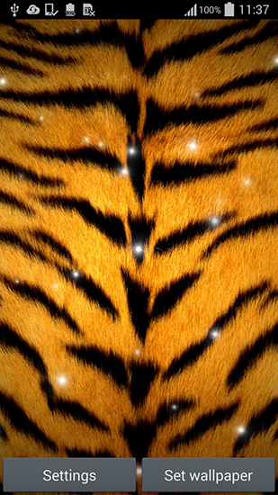 Screenshots of the Animal print for Android tablet, phone.