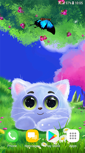 Animated Cat Live Wallpaper For Android Animated Cat Free Download