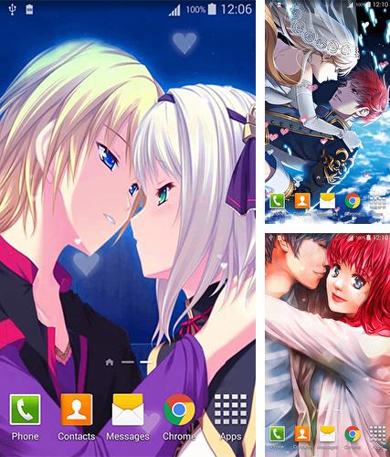 Download live wallpaper Anime lovers for Android. Get full version of Android apk livewallpaper Anime lovers for tablet and phone.