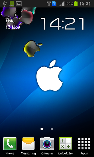 Download Apple - livewallpaper for Android. Apple apk - free download.