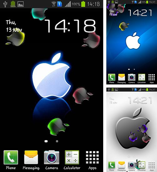 Download live wallpaper Apple for Android. Get full version of Android apk livewallpaper Apple for tablet and phone.