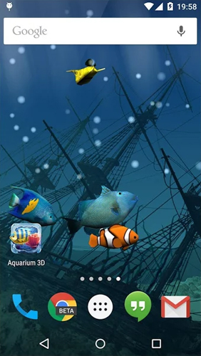 Download Aquarium - livewallpaper for Android. Aquarium apk - free download.
