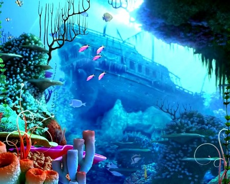Screenshots von Aquarium by Cool free apps für Android-Tablet, Smartphone.