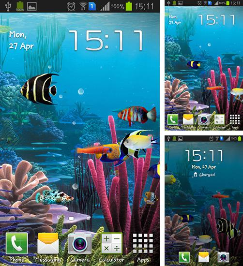 In addition to live wallpaper Blox pro for Android phones and tablets, you can also download Aquarium by Cowboys for free.